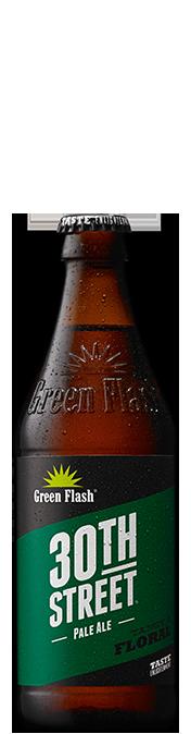 30th St beer bottle