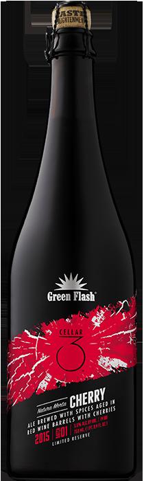 Natura Morta Cherry beer bottle