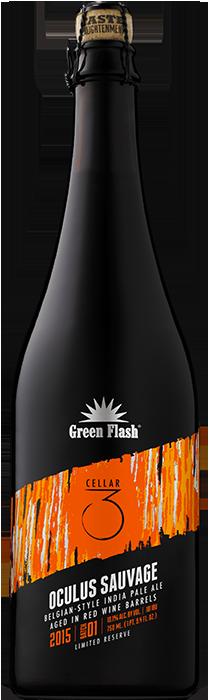 Oculus Sauvage beer bottle