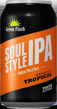 Soul Style beer bottle