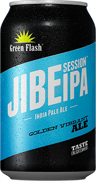 Jibe Session IPA beer bottle