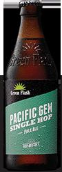 Pacific Gem beer bottle