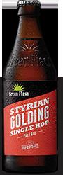 Styrian Golding beer bottle