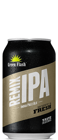 Remix IPA Can beer bottle
