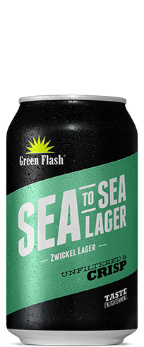 Sea to Sea Lager beer bottle